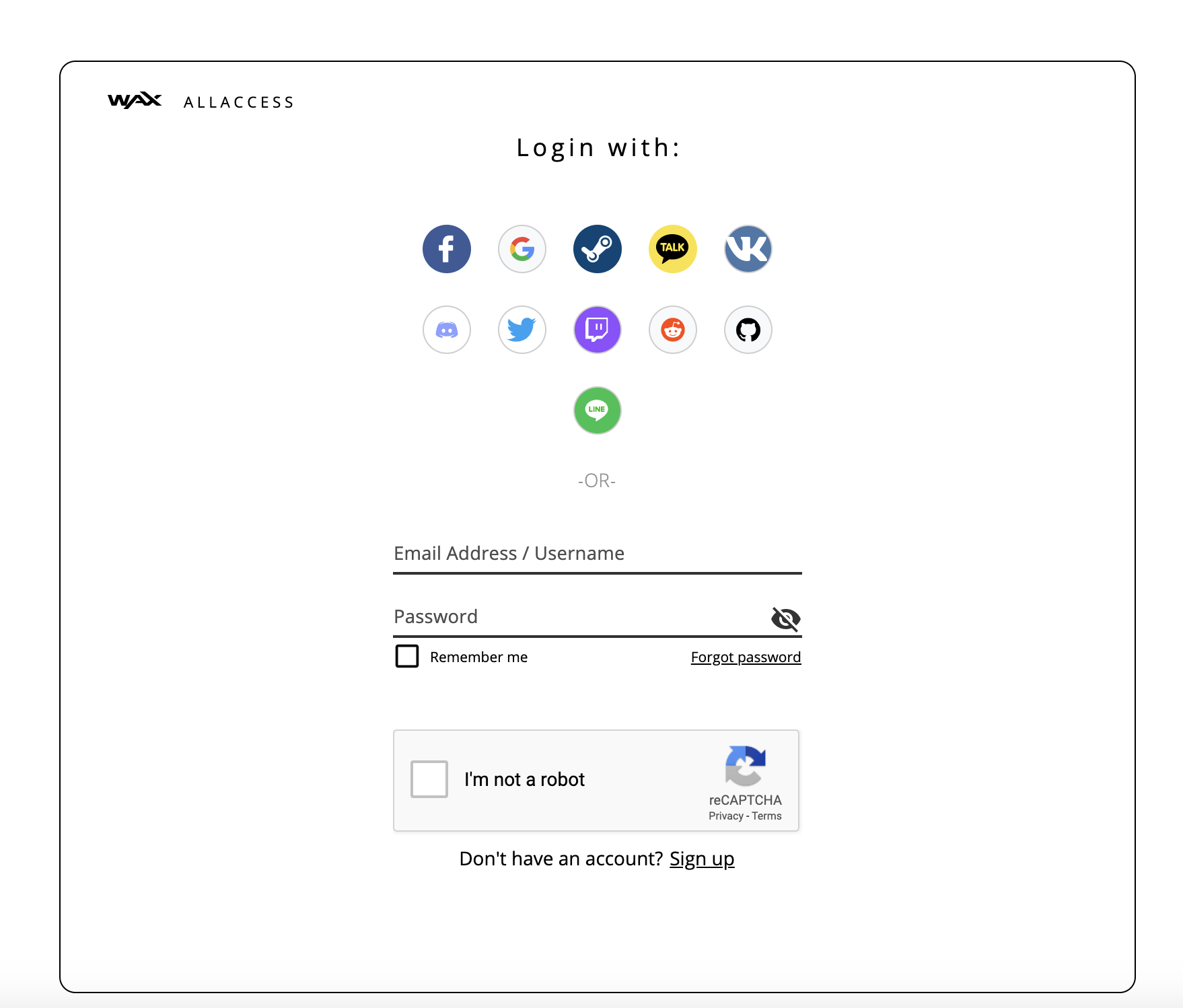 WAX Developer Portal