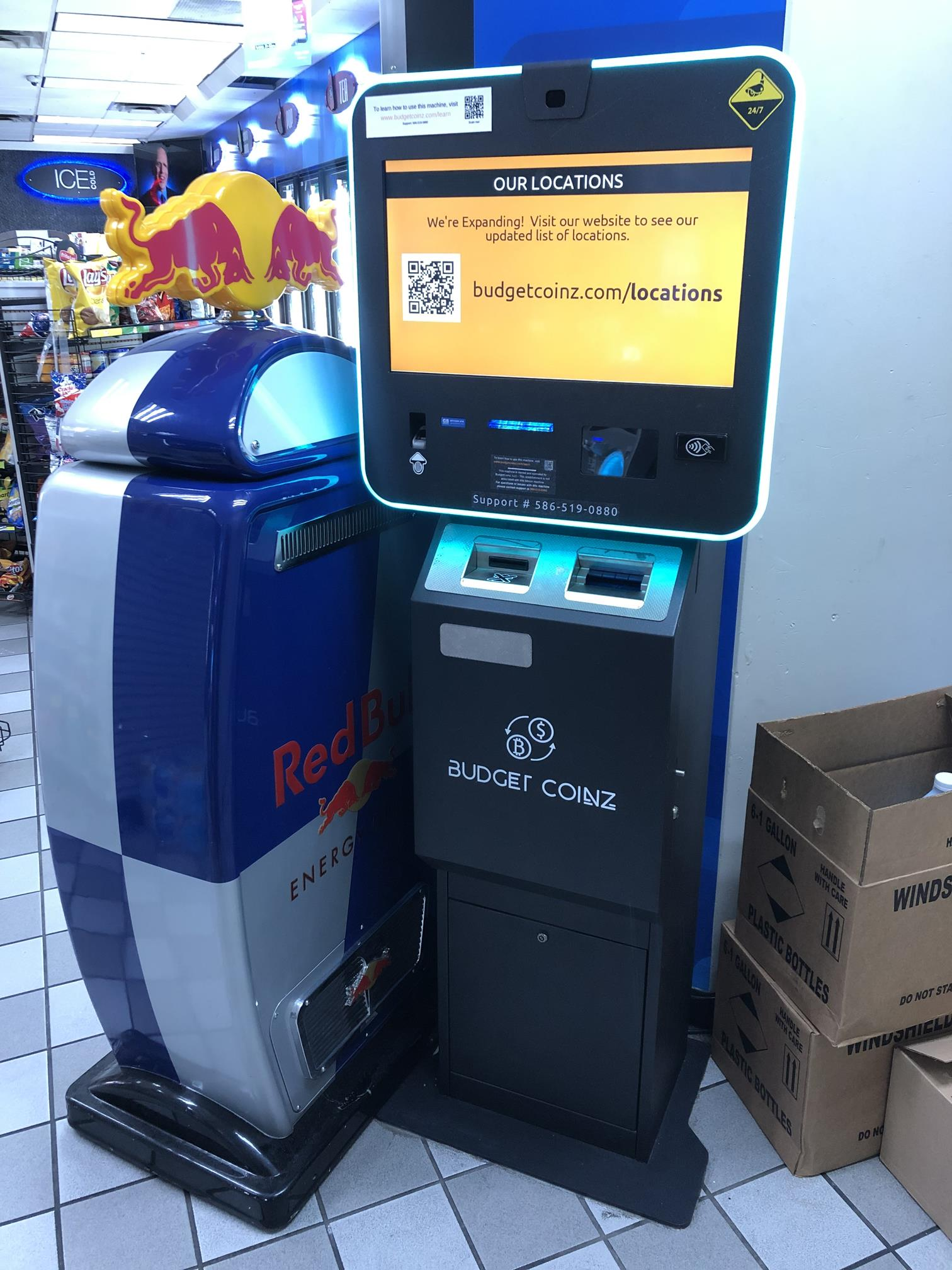 How to Buy Bitcoin with Cash Using a Bitcoin ATM - Real ...
