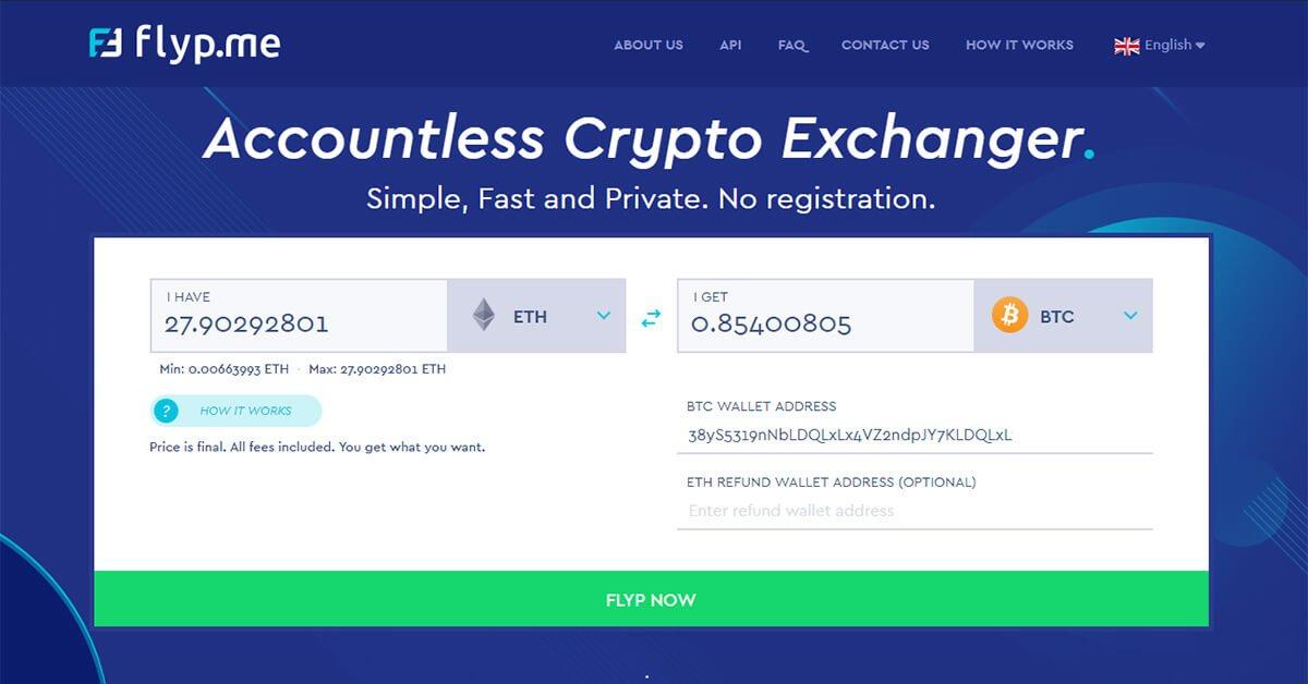 Crypto Exchanger