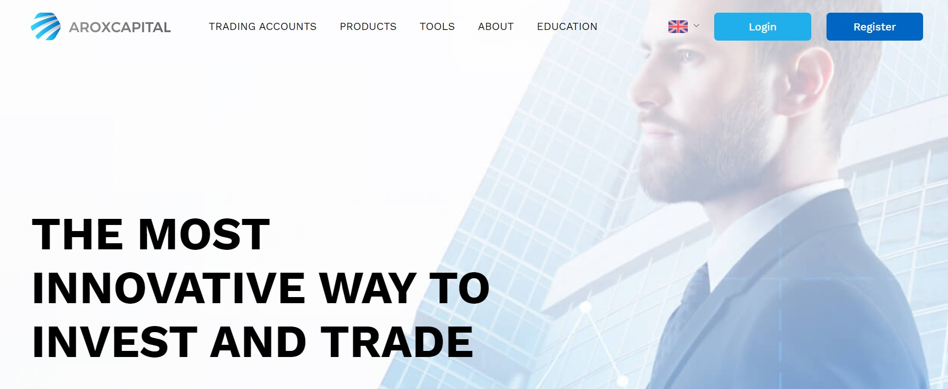 Aroxcapital website