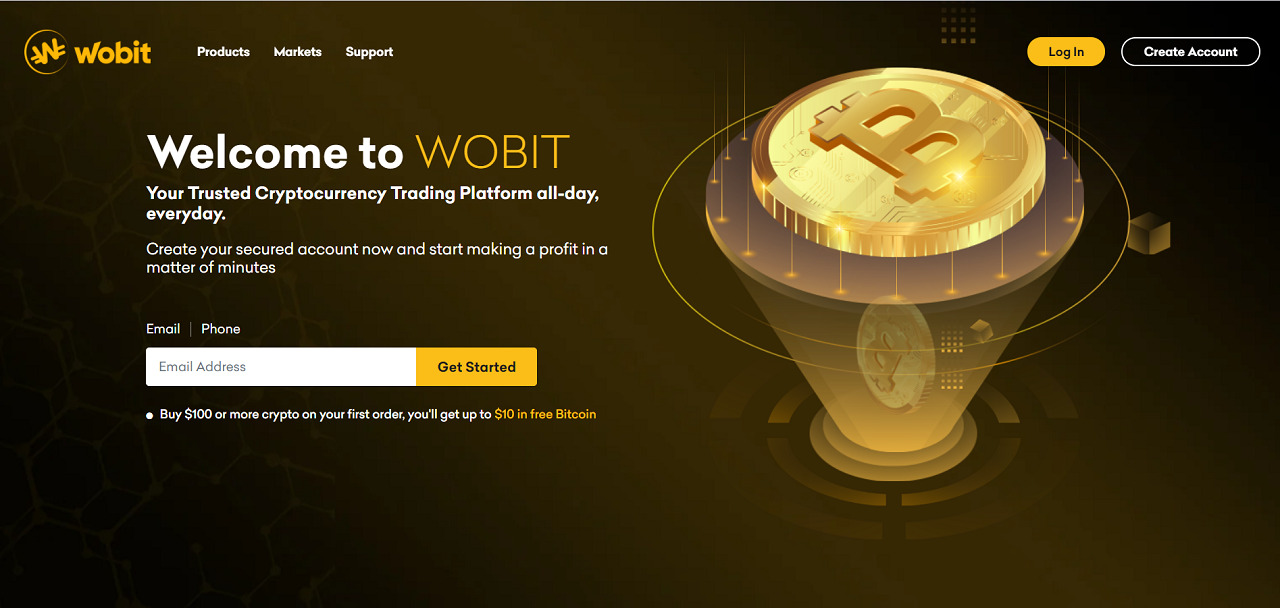 Wobit Review – Begin your Crypto Trading Journey
