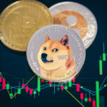 Focus,Select,And,Blur,Dogecoin,Cryptocurrency,Silver,Symbol,And,Stock