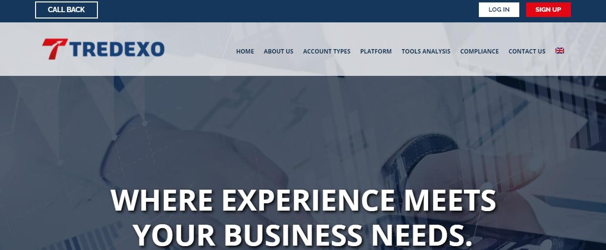 Tredexo website